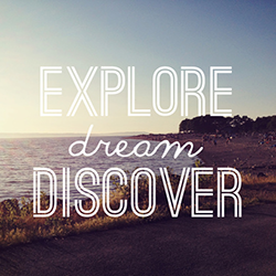 Explore-Dream-Discover